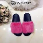 Givenchy鞋子-001 美國名媛卡戴珊同款意大利進口水貂毛平底拖鞋