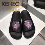 KENZO鞋子-001-3 高田賢三經典款老虎頭系列情侶款平底拖鞋一字拖