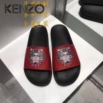 KENZO鞋子-001-6 高田賢三經典款老虎頭系列情侶款平底拖鞋一字拖