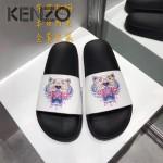 KENZO鞋子-001-2 高田賢三經典款老虎頭系列情侶款平底拖鞋一字拖