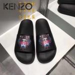 KENZO鞋子-001-4 高田賢三經典款老虎頭系列情侶款平底拖鞋一字拖