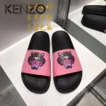 KENZO鞋子-001 高田賢三經典款老虎頭系列情侶款平底拖鞋一字拖