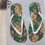 GUCCI鞋子-004-2 專櫃限量紀念版老虎印花情侶款人字拖沙灘鞋