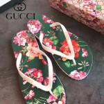 GUCCI鞋子-004-5 專櫃限量紀念版熱帶風情情侶款人字拖沙灘鞋