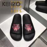 KENZO鞋子-001-5 高田賢三經典款老虎頭系列情侶款平底拖鞋一字拖