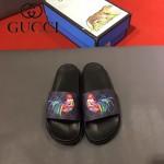 GUCCI鞋子-0005-8 獨家最新原版防滑耐磨大底最新款動物圖案拖鞋