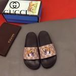 GUCCI鞋子-0005-10 獨家最新原版防滑耐磨大底最新款動物圖案拖鞋