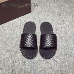 BV鞋子-001-2 夏季原版全手工編織牛皮革面男士爆款涼鞋
