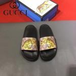 GUCCI鞋子-0005-6 獨家最新原版防滑耐磨大底最新款動物圖案拖鞋