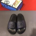 GUCCI鞋子-0006-3 獨家最新原版防滑耐磨大底牛皮五金打釘立體圖案最新款拖鞋