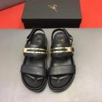 Giuseppe Zanotti-0007 朱塞佩薩諾第原版進口皮料最新金屬涼鞋
