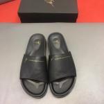 Giuseppe Zanotti-0008-3 朱塞佩薩諾第原版進口皮料最新拖鞋