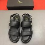 Giuseppe Zanotti-0007-2 朱塞佩薩諾第原版進口皮料最新金屬涼鞋