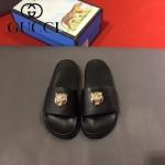 GUCCI鞋子-0006-6 獨家最新原版防滑耐磨大底牛皮五金打釘立體圖案最新款拖鞋