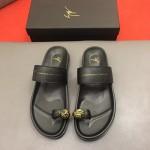 Giuseppe Zanotti-0008 朱塞佩薩諾第原版進口皮料最新拖鞋