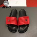 VERSACE鞋子-0032-3 范思哲最新款魔術貼涼拖鞋