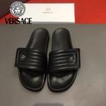 VERSACE鞋子-0032 范思哲最新款魔術貼涼拖鞋