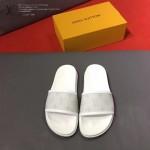 LV鞋子-0020 路易威登經典花紋原版拖鞋