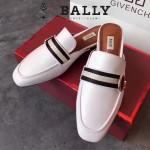 BALLY鞋子-001-2 巴利官網同步進口小牛皮配織帶拖鞋單鞋
