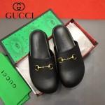 Gucci鞋子-009 專櫃紀念Gucci+Disney聯名款萌寵原版牛皮平底拖鞋