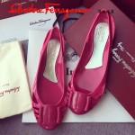 Ferragamo鞋子-001-6 菲拉格慕人氣經典款鞋面金屬扣配塑膠材質平底果凍鞋