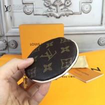 LV-M61926 原單經典老花圓形拉鏈款零錢包