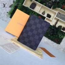 LV-N60031-1 原單法國定制材質Damier帆布護照夾