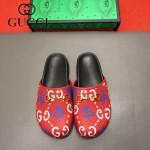 Gucci鞋子-009-5 專櫃紀念Gucci+Disney聯名款萌寵原版牛皮平底拖鞋