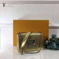 LV-M50280 金色限量版小巧可調節鏈條女士單肩斜挎包