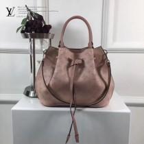LV-M54402 Mahina小牛皮製作兩種款式風格時尚水桶包大號休閒手提包GIROLATA 手袋