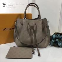 LV-M54402-2 Mahina小牛皮製作兩種款式風格時尚水桶包大號休閒手提包GIROLATA 手袋