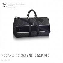 LV-M43413 時尚動感風格Monogram花紋旅行袋