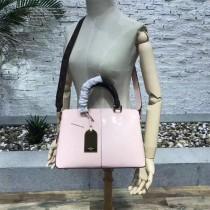 LV-M54640-5 原版漆皮小牛皮LV字母印花帆布手柄與肩帶TOTE MIROIR 手袋