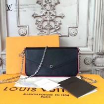 LV-M61276 原單簡單時尚水波紋手包肩背手袋