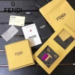 FENDI-024-13 專櫃新品ABCLICK系列原單T字母金屬搭配皮草掛飾可當首飾