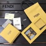 FENDI-024-15 專櫃新品ABCLICK系列原單M字母金屬搭配皮草掛飾可當首飾