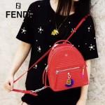FENDI-024-24 專櫃新品ABCLICK系列原單B字母金屬搭配皮草掛飾可當首飾