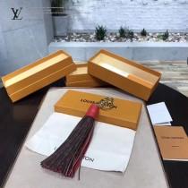 LV-M78617-3 帆布搭配多彩小牛皮純手工製作流蘇鑰匙扣