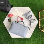 FENDI 149S 專櫃新品DÉGRADÉ三色拼色原版小牛皮手提單肩包波斯頓包
