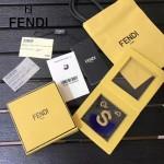 FENDI-024-6 專櫃新品ABCLICK系列原單S字母金屬搭配皮草掛飾可當首飾