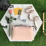 FENDI 149S-3 專櫃新品DÉGRADÉ三色拼色原版小牛皮手提單肩包波斯頓包