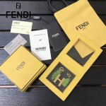 FENDI-024-20 專櫃新品ABCLICK系列原單H字母金屬搭配皮草掛飾可當首飾