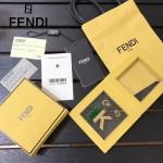 FENDI-024-21 專櫃新品ABCLICK系列原單K字母金屬搭配皮草掛飾可當首飾