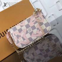 LV-N60051 大溪地系列Damier Azur帆布Monogram印花最新款小手袋