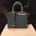FENDI 333A-2 專櫃春季最新配色原版西班牙小牛皮mini手提單肩包