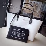 COACH-36609 新款雙面兩用字母袋女士手提包