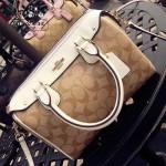 COACH-36702 小號最新PVC配配枕頭包女士手提單肩斜挎包