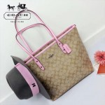 COACH-36876-2 PVC款COACH最新款媽咪袋女士購物袋