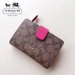 COACH-53562-4 人氣熱銷時尚潮流多卡位女士中長款錢包