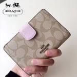 COACH-53562-3 人氣熱銷時尚潮流多卡位女士中長款錢包